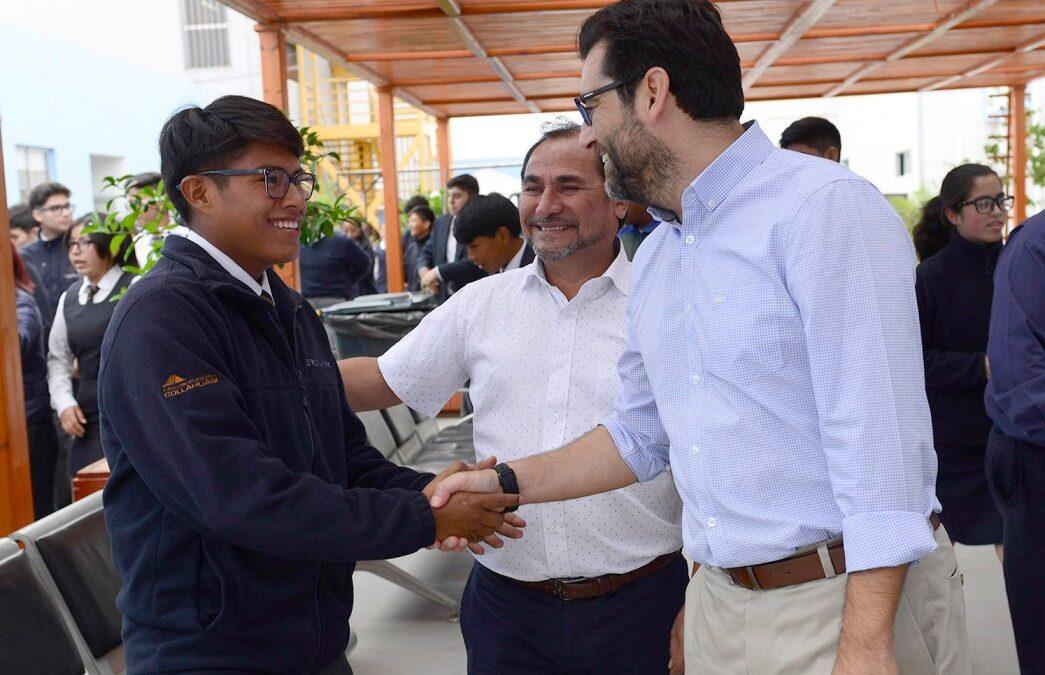 LICEO JUAN PABLO II OBTIENE EL PRIMER LUGAR DE ESTABLECIMIENTOS MUNICIPALIZADOS DE TARAPACÁ EN RESULTADOS PSU 2019