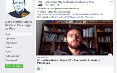 LICEOS DE PICA Y ALTO HOSPICIO CULMINARÁN EL AÑO ESCOLAR FORTALECIDOS EN EL TELEAPRENDIZAJE