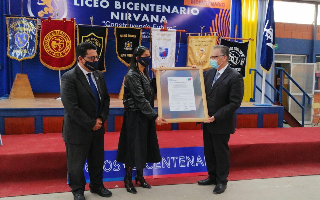 """Ocho liceos de Tarapacá firman """"Compromiso Bicentenario 2021"""" del Mineduc"""