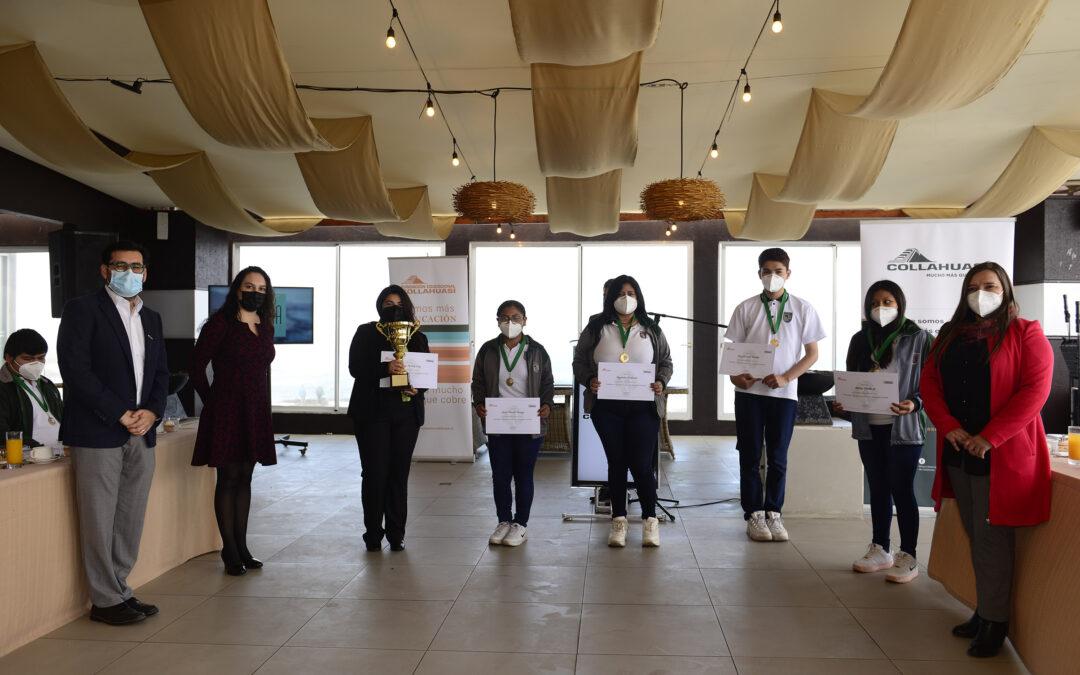 Tres innovadoras propuestas ganaron concurso escolar para resolver desafíos regionales a través de la economía circular